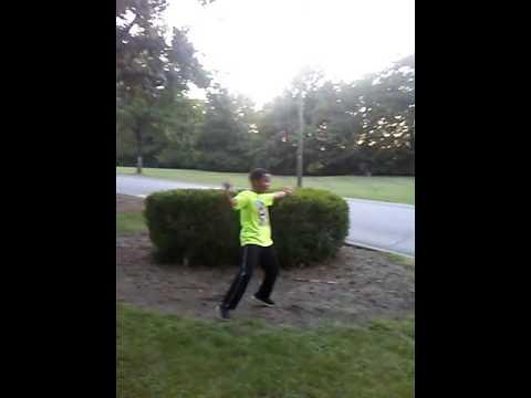 Jumping bush