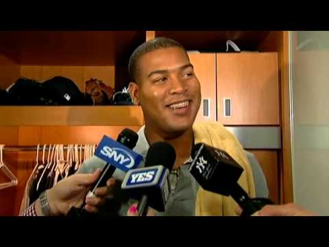 New York Yankees' pitcher Ivan Nova on his successful third start of the season