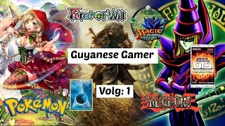 Guyanese Gamer's: Life of A Trading Card Game Collector - Vlog: 1