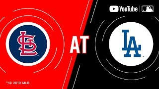 Cardinals at Dodgers   MLB Game of the Week Live on YouTube