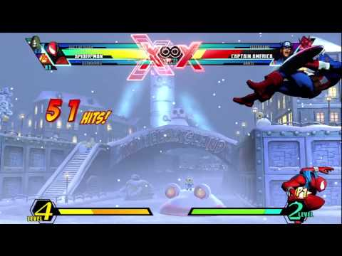 UMvC3 SpiderMan TAC  Infinite