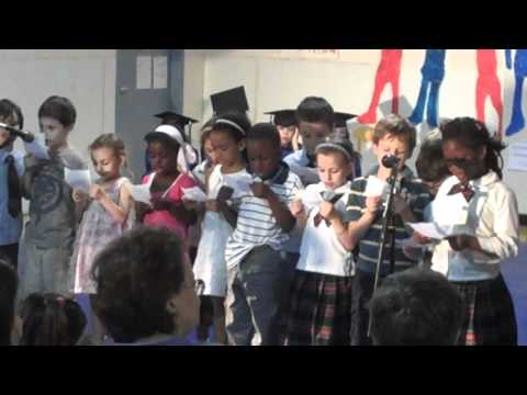music show-  wijdan with her class at Lyceum Kennedy International 2010