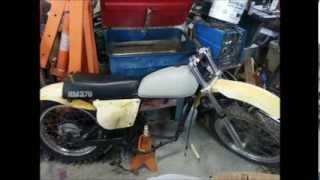 1976 Suzuki Rm370 restoration