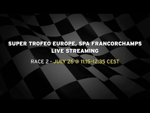 Lamborghini Super Trofeo Europe Spa Francorchamps - Race 2