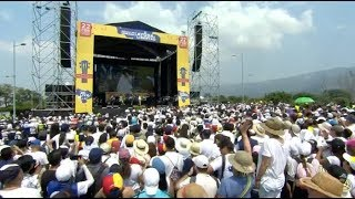 Concierto Venezuela Aid Live reúne a estrellas de la música