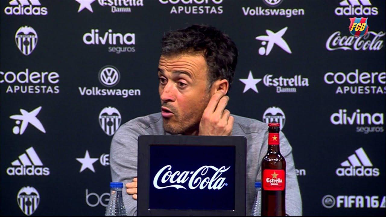 Luis Enrique looks forward to hard-earned Copa del Rey final
