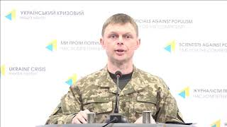 Col. Maksym Prauta, Ministry of Defense of Ukraine spokesperson. UCMC 25.03.2018