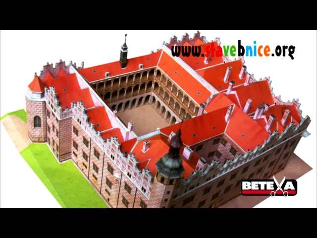 Stavebnice.org - Betexa - Papírové modely zámků