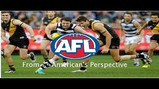 AFL From an American's Perspective