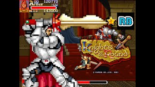 1992 [60fps] Knights of the Round Arthur Hardest Nomiss ALL