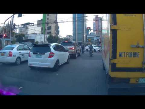 Philippines, Metro Manila, traveling by car | SJ5000X FEIYUTECH WG