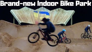 The Riveter indoor bike park & climbing gym | Opening day party | Mills River, NC
