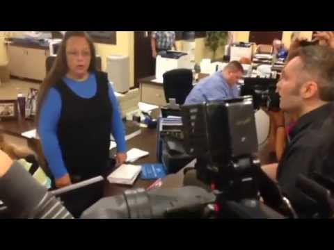 Kentucky County Clerk Denies Requests from Same-sex Couples for Marriage Licenses