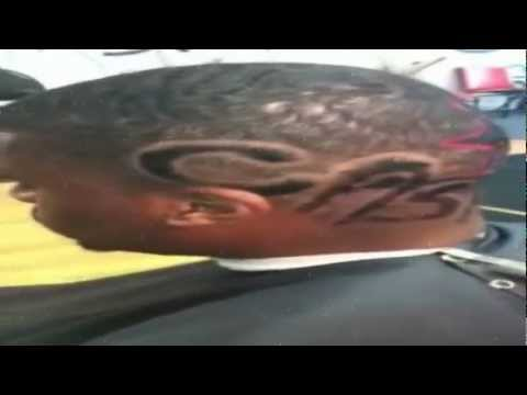 Young Casanova at Infinites Cuts Barbershop! ★Custom Hair Cut★