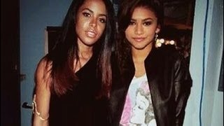 Zendaya Video - From A to Z: Aaliyah and Zendaya (2014 Biopic Comparison Pics & Vids)