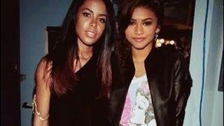 Zendaya Video - From A to Z: Aaliyah and Zendaya (2014 Biopic Comparison Pics & Vids)