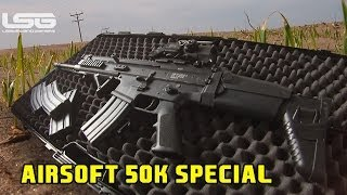 WE SCAR Airsoft, Intense Combat - Anzio Camp 50k Special