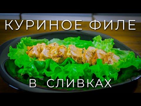 Рецепт куриной грудки сливках фото