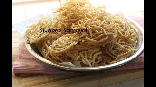 Traditional Murukku(பாரம்பரிய முறுக்கு)Sivakasi Samayal / Recipe - 424