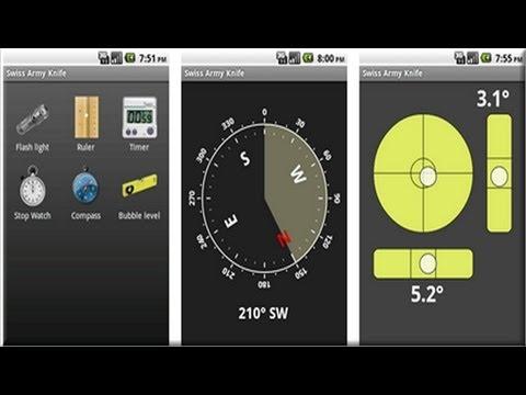 Herramientas utliles para android gratis -  Navaja Suiza
