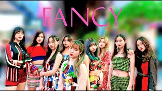 "[KPOP IN PUBLIC] #TWICE "" #FANCY "" Dance Cover By DazzleDanceHK From Hong Kong"