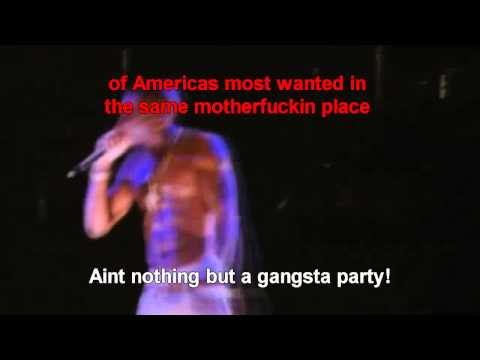 Tupac Hologram Feat Snoop Dogg, Dr Dre - Perform Coachella (Lyrics)