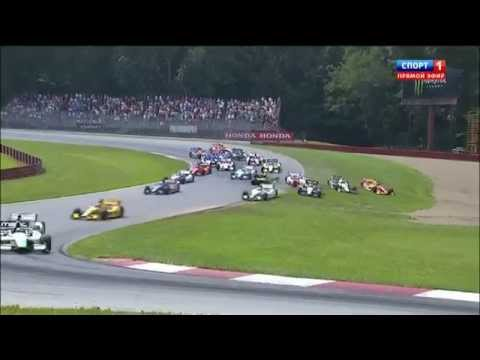 Start Crash @ 2014 Indy Car Mid-Ohio