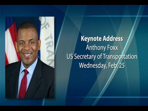 Transportation Sec. Anthony Foxx at the AASHTO Washington Briefing