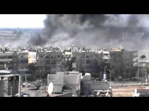 Heavy Shelling in Syrian City