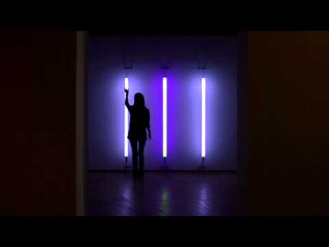 Light Tree : Interactive Dan Flavin by HYBE (2011)