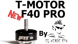 The New T-Motor F40 PRO. The Best Racing Motor Right Now!!!