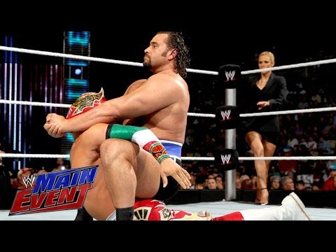Sin Cara Vs. Alexander Rusev: Wwe Main Event, April 8, 2014 video