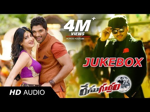 Race Gurram Jukebox | Full Songs Official | Allu Arjun, Shruti Hassan | S Thaman video