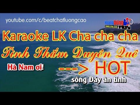 LK Cha Cha Cha Tình Thắm Duyên Quê || Karaoke Nhạc Sống || Âm thanh sống động và hay nhất 2017 thumbnail
