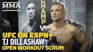UFC Brooklyn: T.J. Dillashaw Says 'I Don't Really Care' About Future of Flyweight Division