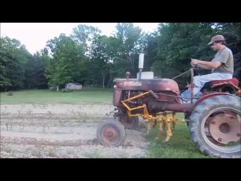Farmall Cub Side Dressing Corn and Cultivating