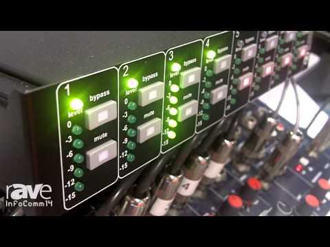 InfoComm 2014: Dan Dugan Exhibits the Model E2 Audio Control System