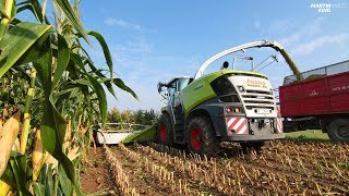 New CLAAS JAGUAR 980 (Type 498) Forage Harvester [SOUND!]