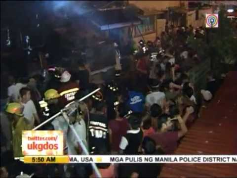 Fire razes 40 homes in Manila