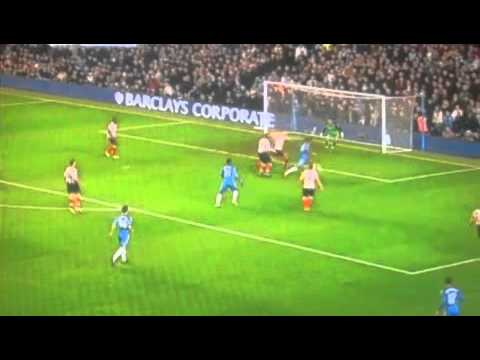 chelsea 0-3 sunderland 2nd half highlights 14/11/10