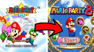 History of Mario Party