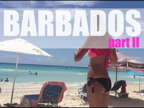 TRAVEL VLOG | Barbados PART II (Accra Beach, Catamaran +more)