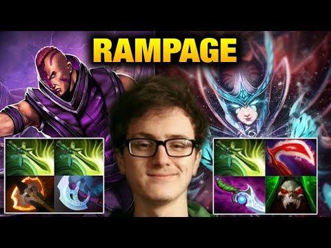 Miracle- [2 Games] RAMPAGE Antimage & Phantom Assassin Dota 2