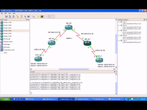 Multiprotocol Label Switching MPLS LAB 1 Part 1 Trailer MPLS Basics