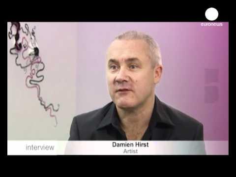 euronews interview - Damien Hirst e la morte nell'arte