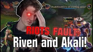 Hashinshin VS AKALI : Why is she (and Riven) SO BROKEN?