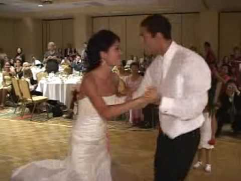 Rina & Nick's Wedding - CRAZY First Dance Video