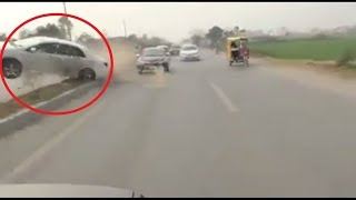 Another Corolla Accident in Pakistan Wedding