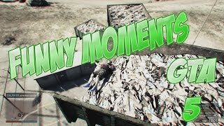 GTA 5 Funny Moments: #3 Parkour Map