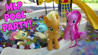 MY LITTLE PONY POOL PARTY with ORBEEZ! | Ep. 10